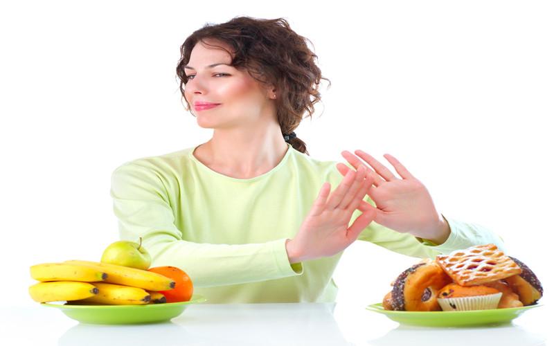 abdômen trincado alimentação