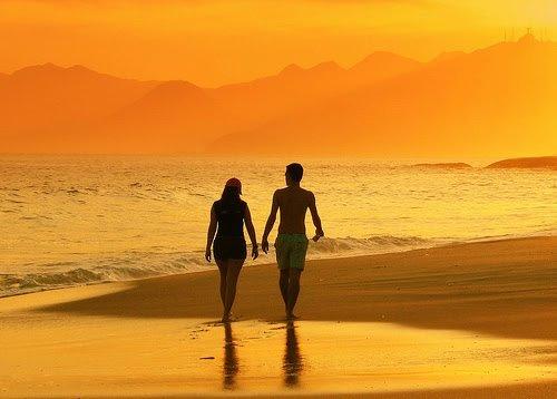 caminhar-na-praia