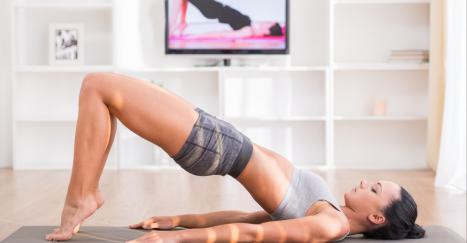 Exercícios de Pilates para fazer em casa