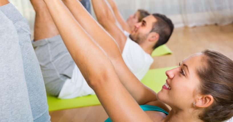 Praticar aulas de Pilates em Casa