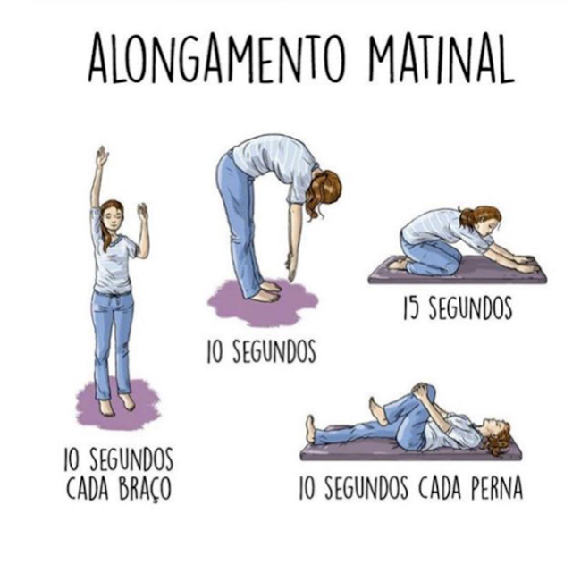 Alongamento Matinal
