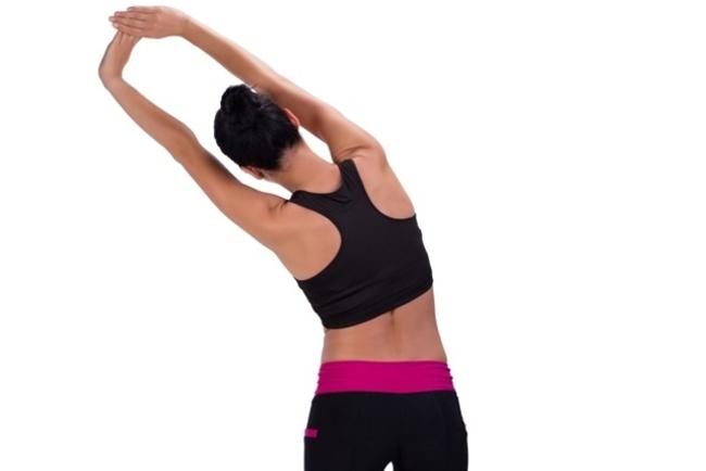 O alongamento pode ser feito depois das atividades físicas.