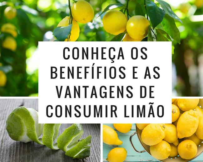 Conheça os Benefícios e as vantagens de consumir limão