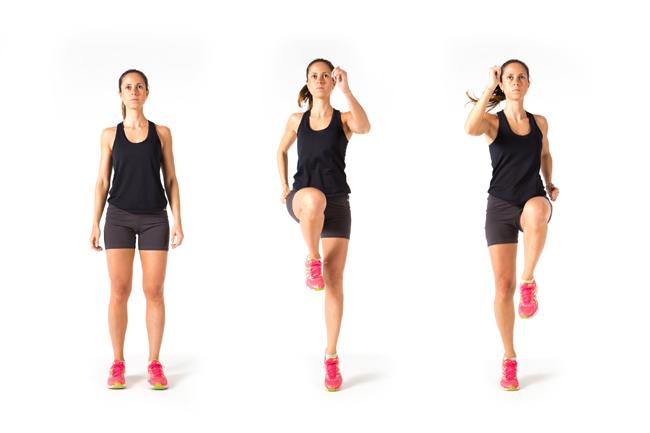 Faça aquecimento antes dos exercícios