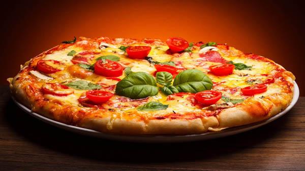 Coma menos pizza