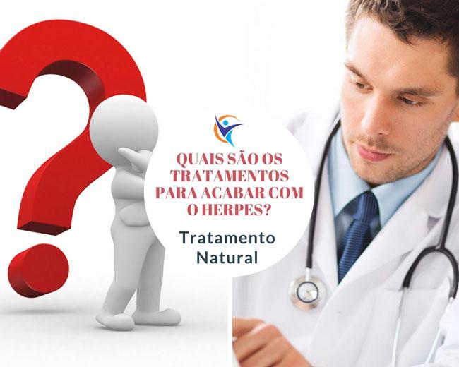 Quais são os tratamentos para acabar com o herpes? Tratamento Natural!