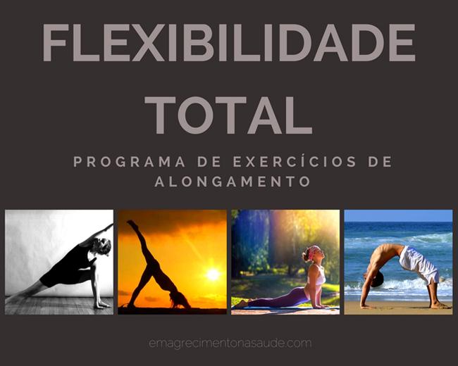Flexibilidade Total: Programa de Exercícios de Alongamento
