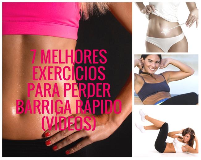 7 Melhores Exercícios Para Perder Barriga Rápido (VÍDEOS)
