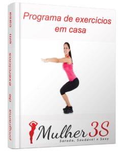 Mulher 3S - Programa de exercícios em casa