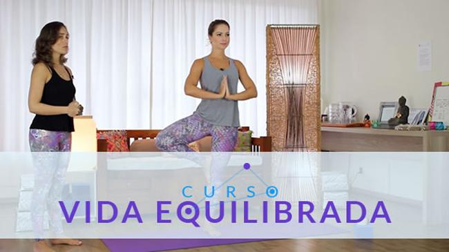 Curso vida equilibrada por Juiana Goes, ajuda no equilibrado corporal e emocional.
