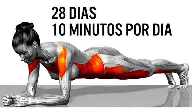 Em forma em 10 - 28 dias apenas 10 minutos por dia