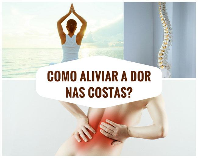 Como aliviar a dor nas costas?