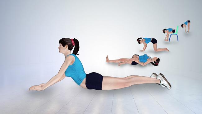 Exercícios para dores nas costas