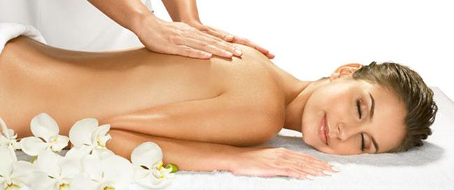 massagem para dor nas costas