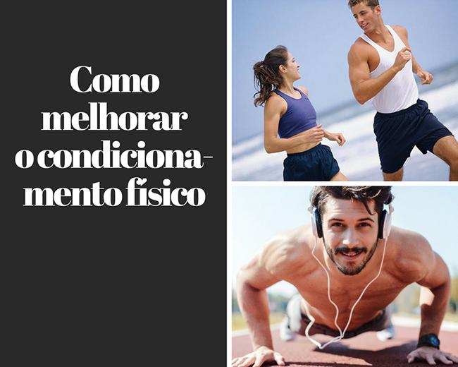 80801ea4d5 Como melhorar o condicionamento físico - Emagrecer com Saúde