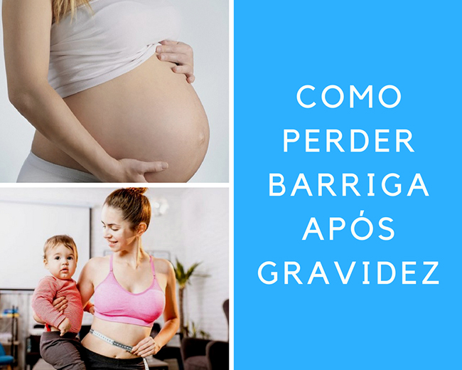 Como perder a barriga após a gravidez