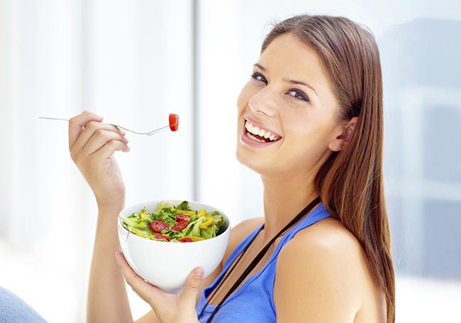 Cuide da sua alimentação