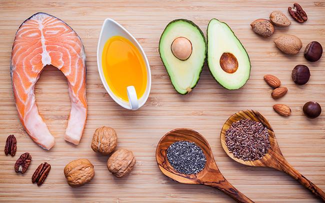 Consumo de gorduras saudáveis também é importante para o ganho de massa magra.