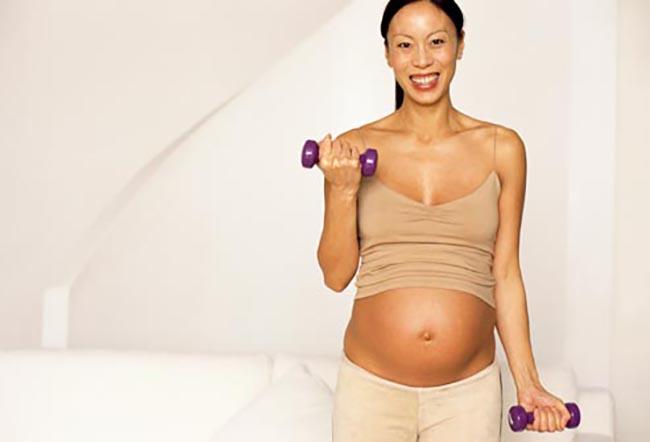 Rotina de Exercícios durante a gravidez