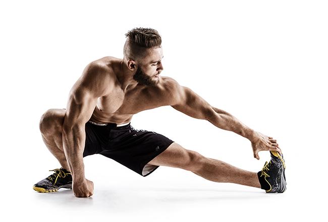Alongamento dos músculos